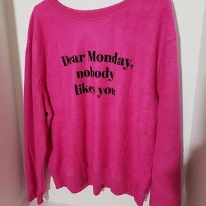 Nobody likes Monday's soft sweatshirt
